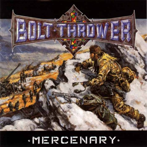 Bolt Thrower - Mercenary LP