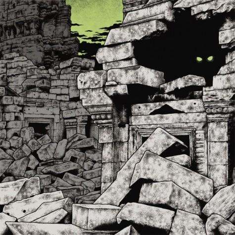 Egypt / Wo Fat - Cyclopean Riffs Split LP