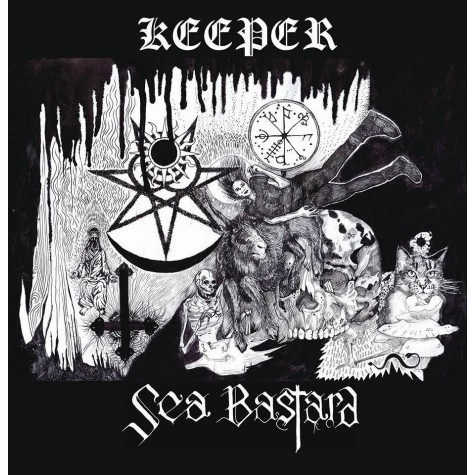 Sea Bastard / Keeper - Split LP