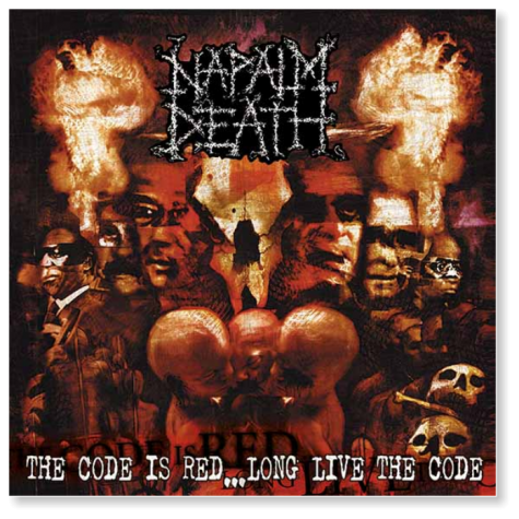 Napalm Death - Code Is Red  PICT LP