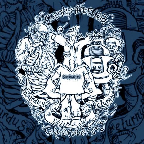 Captain Three Legs / Ghostbusters split CD