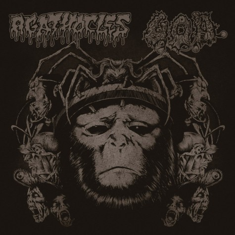Agathocles / G.O.D. - split CD
