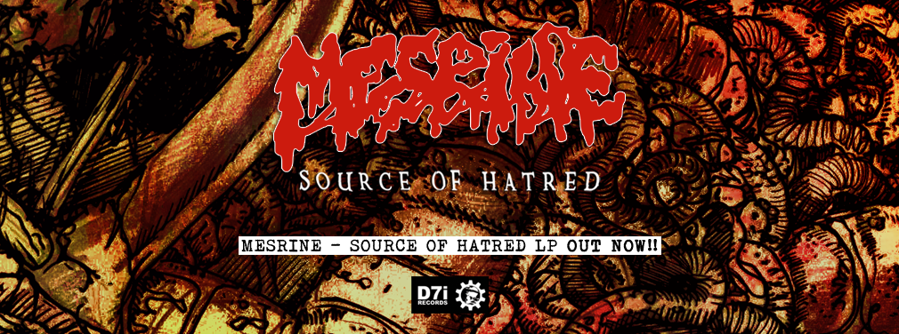 Mesrine - Source Of Hatred LP
