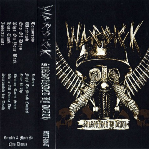 Warsick ‎‎- Surrounded By Death TAPE