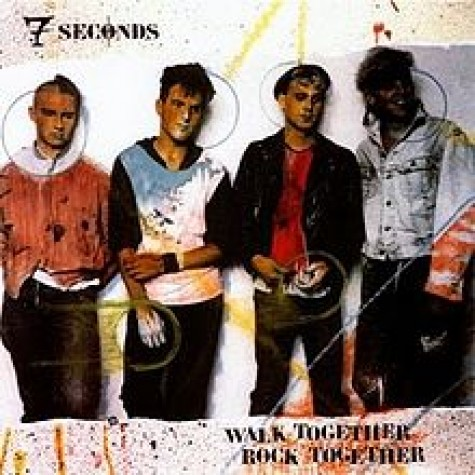 7 SECONDS - Walk Together, Rock Together LP
