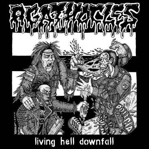 Agathocles / Rust ‎- Split LP