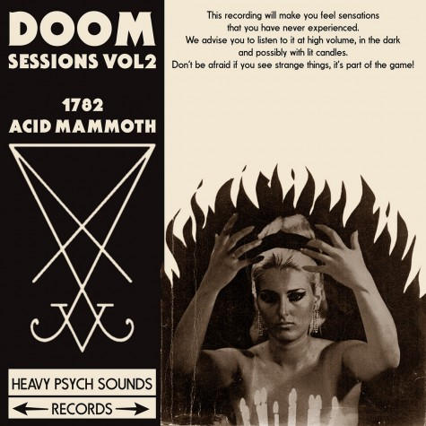 1782/Acid Mammoth - doom sessions vol 2 LP