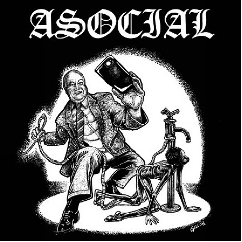 Asocial - Död Åt Kapitalismen LP