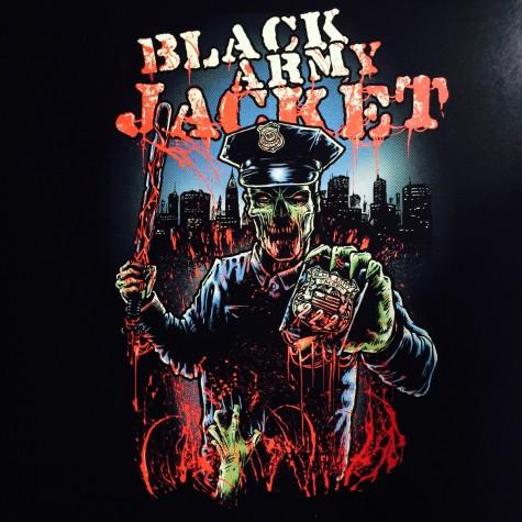 Black Army Jacket - 222 LP