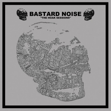Bastard Noise / Lack Of Interest - The Hoak Sessions / Untitled - split LP
