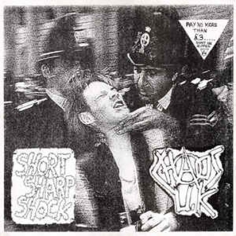 CHAOS U.K. - Short Sharp Shock LP