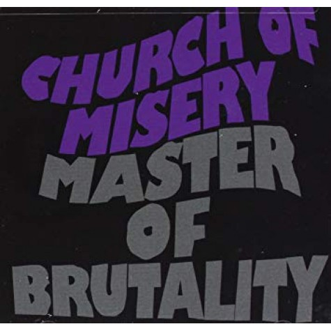 Church Of Misery - Master Of Brutality 2xLP