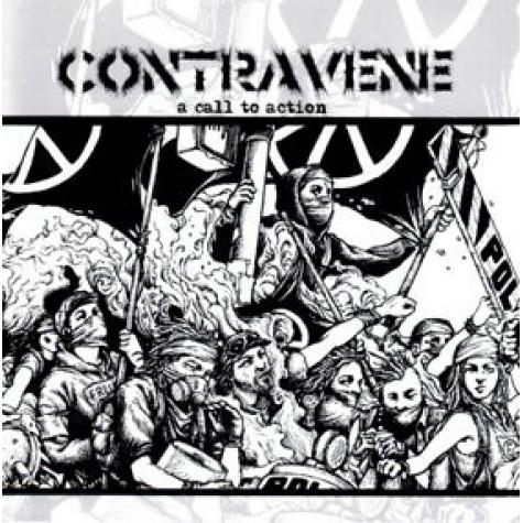 Contravene - A Call To Action LP