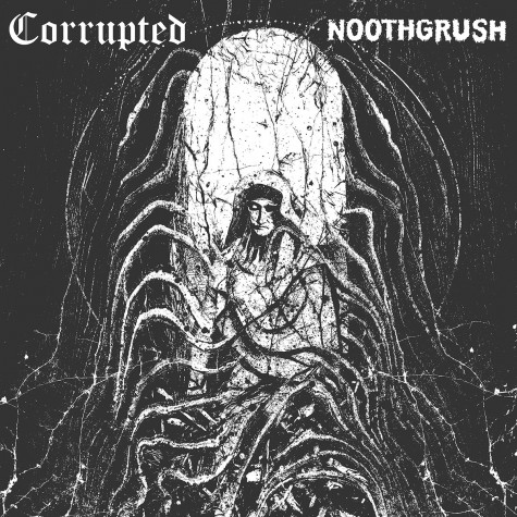 Noothgrush / CorruptedSplit LP