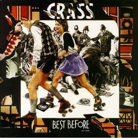 Crass - best before 2xLP