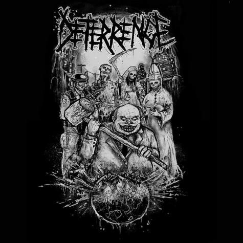 Deterrence / Yattai - One Sided Split LP
