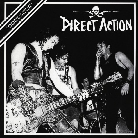 Direct Action - Tomorrow Is Too Late - 1984 Tape LP