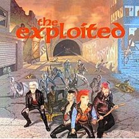 Exploited - Troops of Tomorrow LP