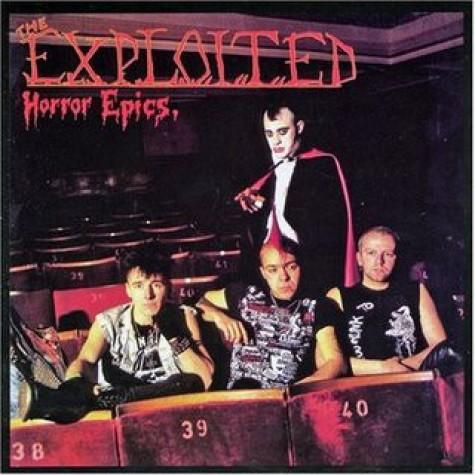 Exploited - Horror Epics LP
