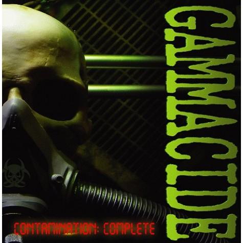 """Gammacide – Contamination: Complete 2xLP + 10"""" + DVD"""
