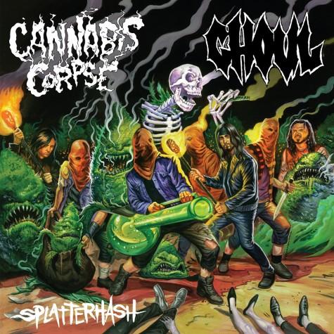 Cannabis Corpse / Ghoul split LP