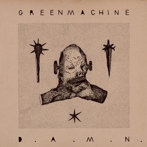 Greenmachine - D.A.M.N LP