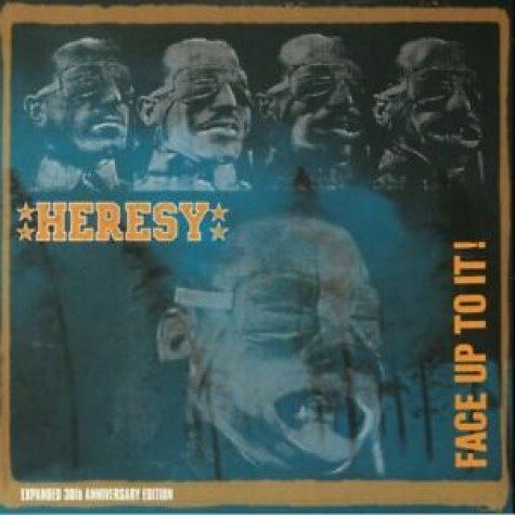 HERESY - Face Up To It! Expanded 30th Anniversary 2LPCD