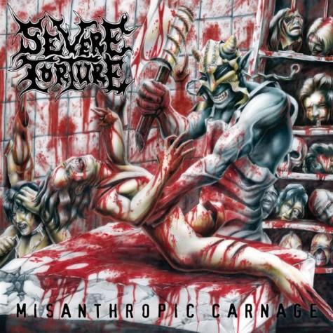 Severe Torture Misanthropic Carnage LP
