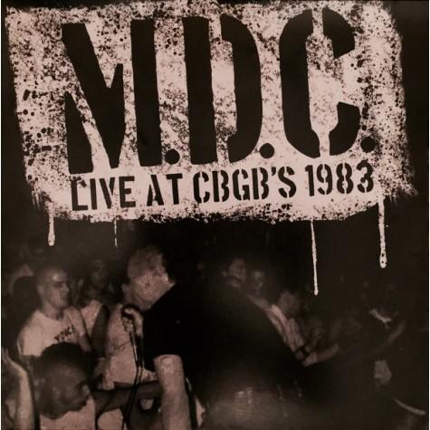 MDC - Live at CBGB's 1983 LP