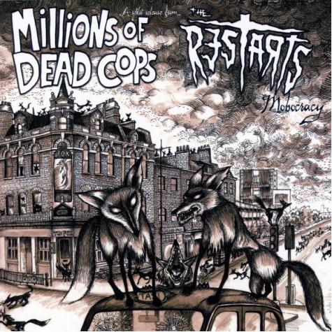 MDC / Restarts - Mobocracy LP