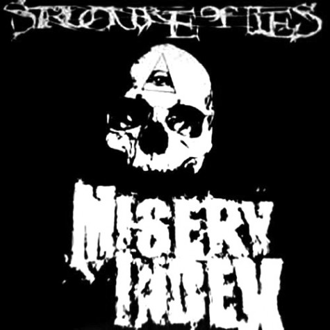 Misery Index / Structure Of Lies - Split LP