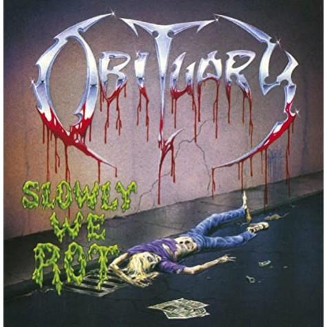 Obituary - Slowly we rot lp