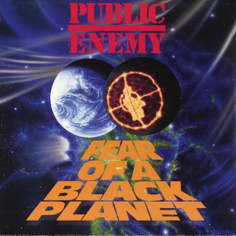 Public Enemy - Fear of A Black Planet 3D cover LP