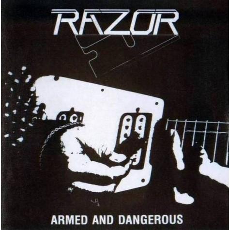 Razor - Armed And Dangerous LP