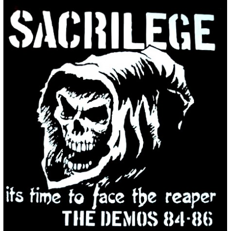Sacrilege - It's time to face the Reaper - The Demos 84-86 2xLP