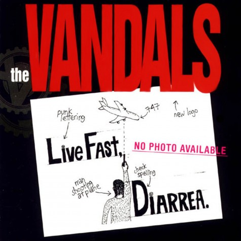 The Vandals - live fast diarrhea LP