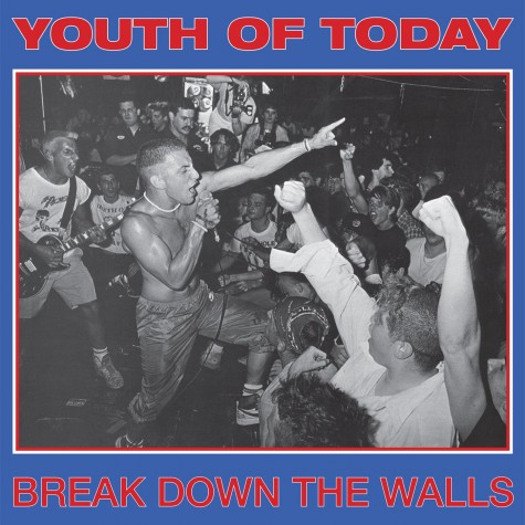 Youth Of Today ‎- Break Down The Walls LP