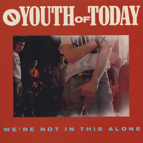 Youth Of Today ‎– We're Not In This Alone LP