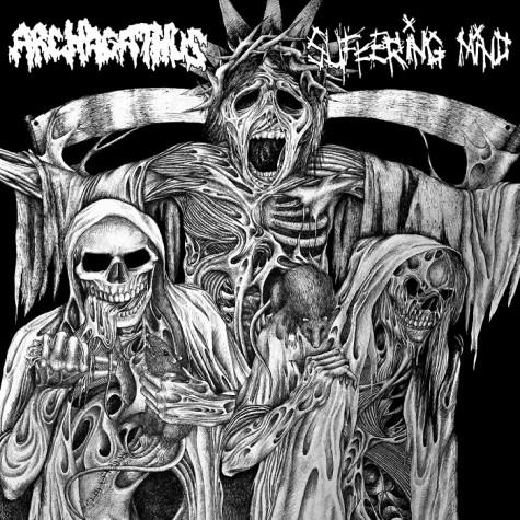 "Archagathus / Suffering Mind - Split 7"""