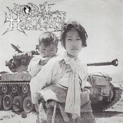 Global Holocaust / Dehumanized Earth split 7''