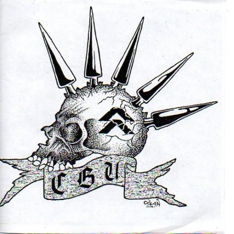 "Cluster Bomb Unit / Raagg split 7"""