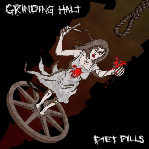Grinding Halt / Diet Pills - split 7''