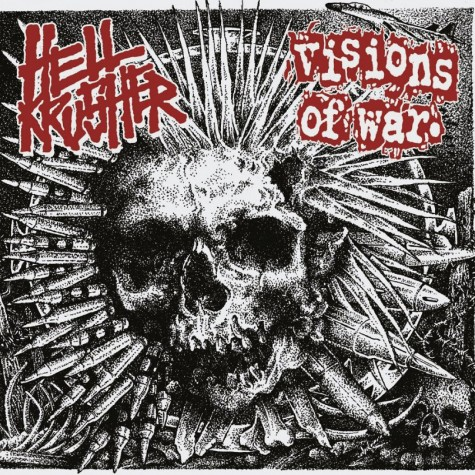 Visions Of War / Hellkrusher - Split 7""