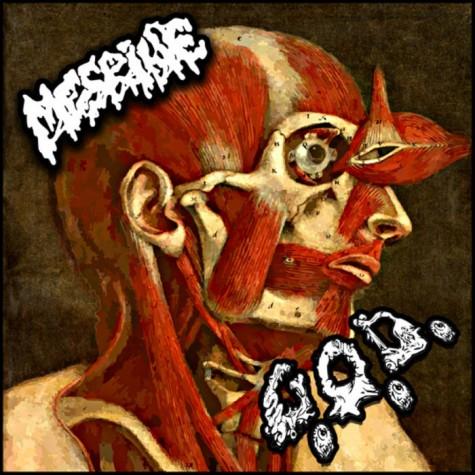 Mesrine / G.O.D. split 7''