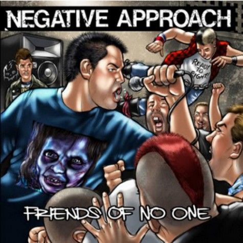 Negative Approach ‎- Friends Of No One 7""