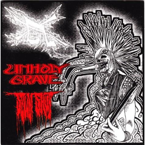 """Unholy Grave / Sewn Shut - split 7"""""""