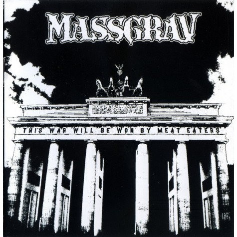 Massgrav - This War Will We Won By Meat Eaters CD