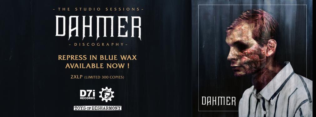 DAHMER - THE STUDIO SESSIONS 2XLP