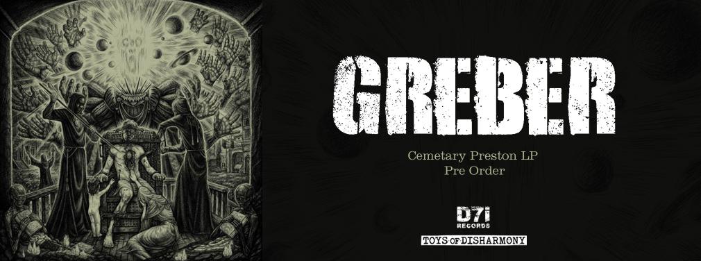 Greber - Cemetary Preston LP