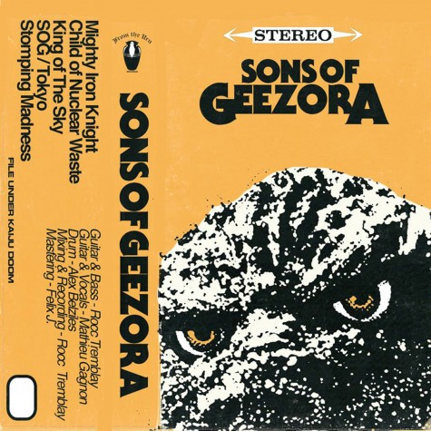 Sons of Geezora - Sons of Geezora TAPE